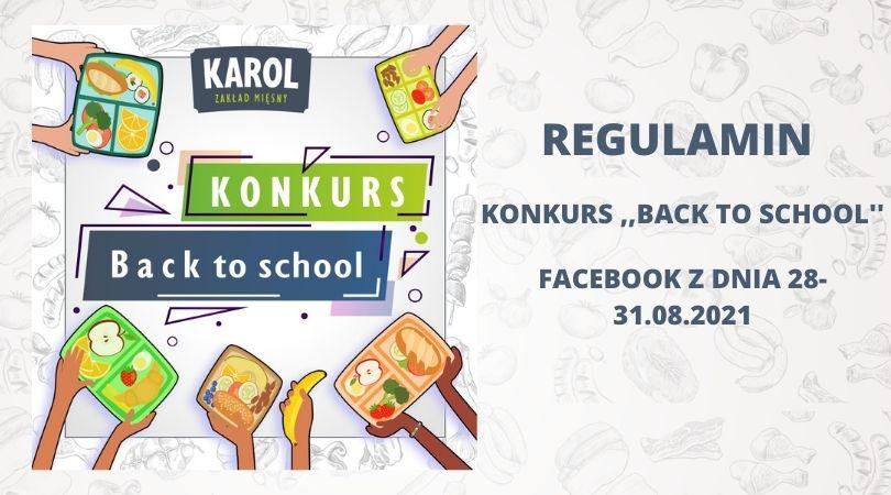 KONKURS ,,BACK TO SCHOOL''